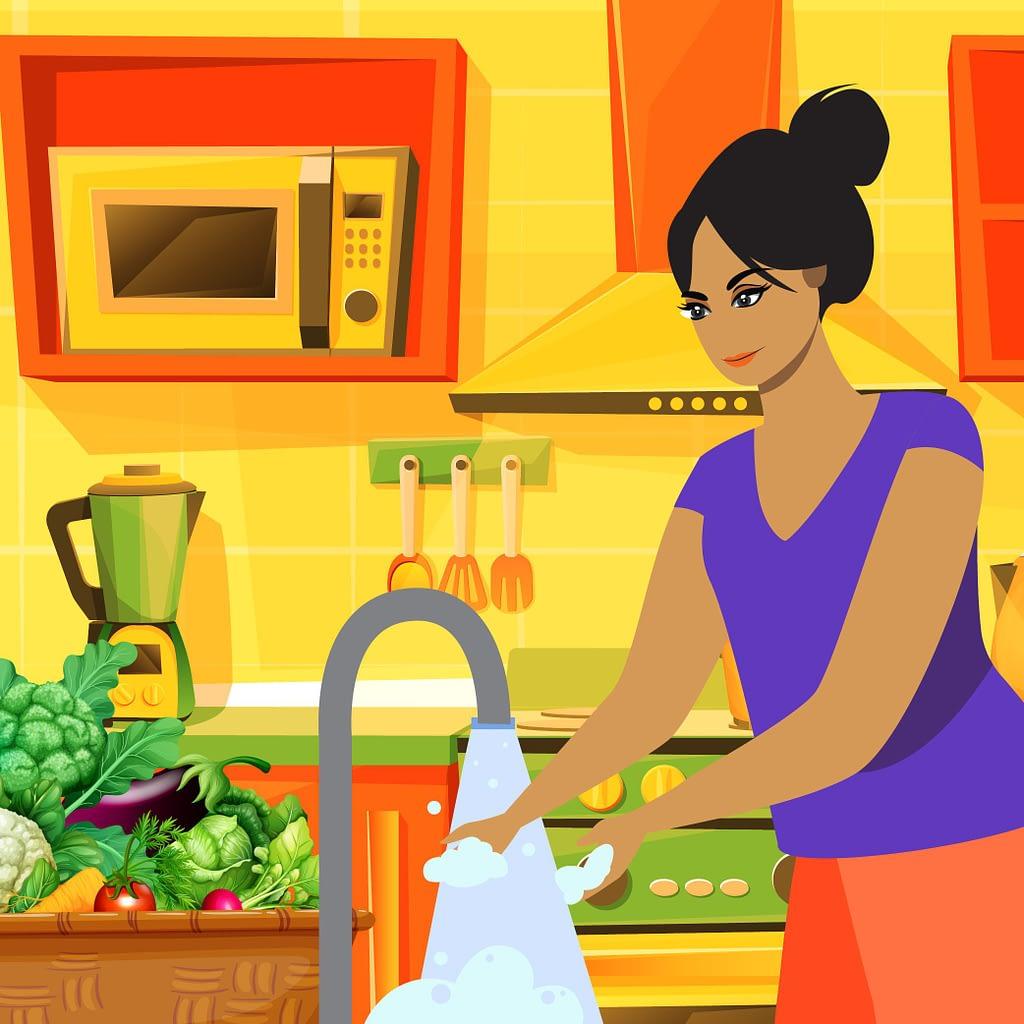 Bien desinfecter les fruits et legumes contenu 01