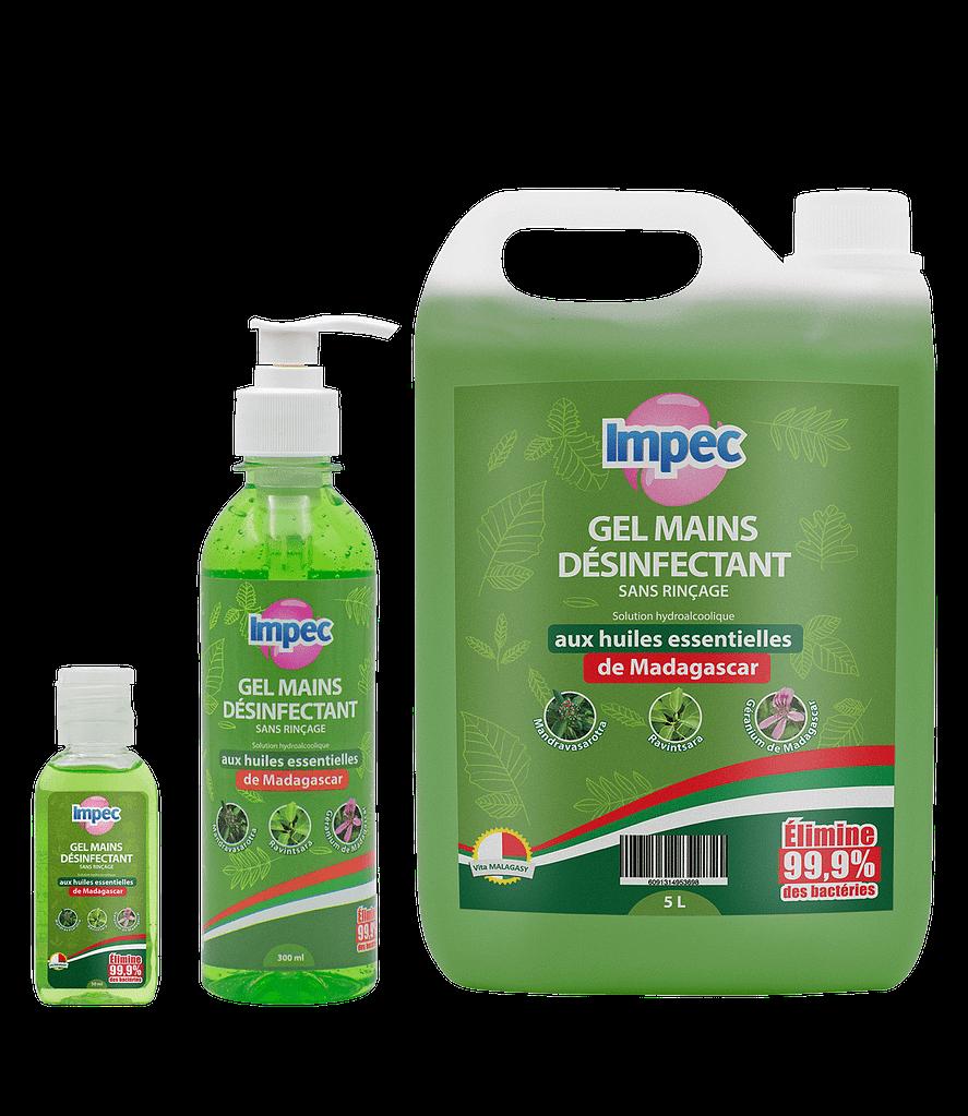 Gel hydroalcoolique huiles essentielles IMPEC