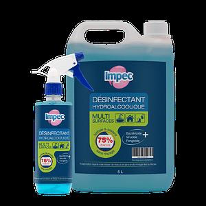 Désinfectant hydroalcoolique multisurface IMPEC