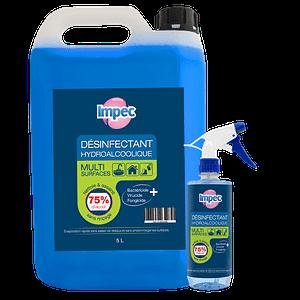 Spray désinfectant hydroalcoolique IMPEC